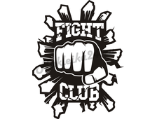 Наклейка Fight Club v2