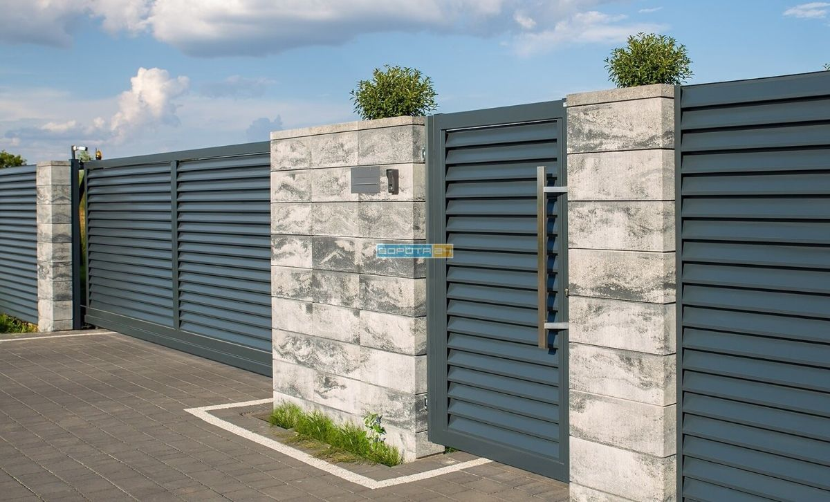 итальянский привод на ворота для въезда - установка - доставка