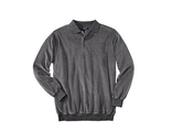 Поло KINGSIZE Velour Long Sleeve Polo
