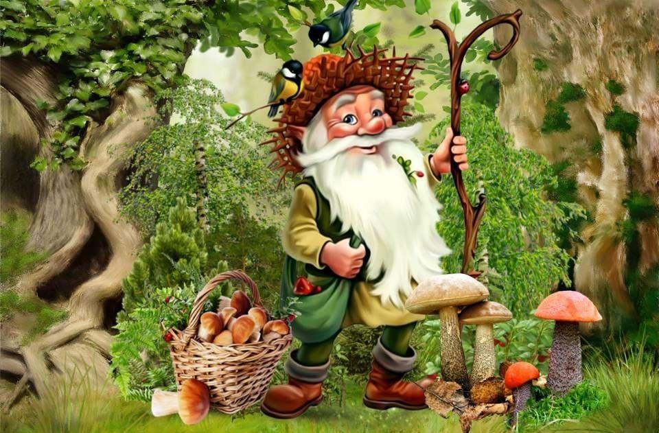 Старичок-лесовичок картинки анимашки