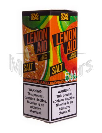 lemon aid - orange lemonade salt