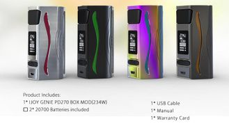 Бокс мод iJOY Genie PD270 234W Mod with two 20700 Rainbow