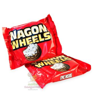 Wagon Wheels, один бисквит, 38 гр.