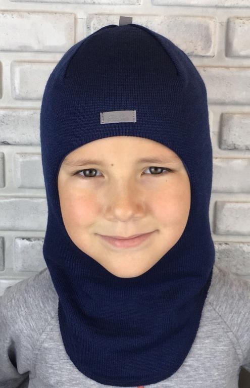 Арт.754 Шлем зимний для мальчиков