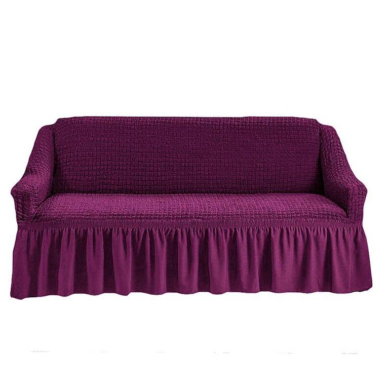 Чехол на диван, Сливовый 225