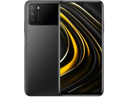 Смартфон Xiaomi Poco M3 4/64GB GLOBAL VERSION (M2010J19CG) Black 6000 мАч