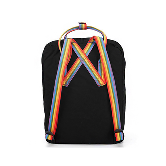 РЮКЗАК FJALLRAVEN KANKEN RAINBOW BLACK