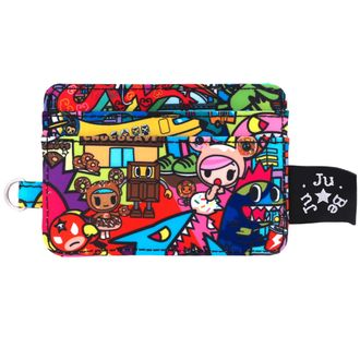 Визитница Ju Ju Be Be Charged Tokidoki Kaiju City