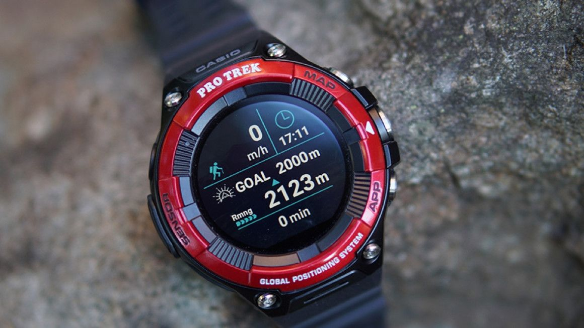 Обзор: Casio Pro Trek Smart WSD-F21HR