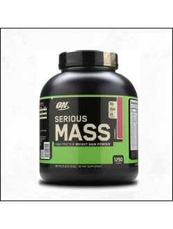 Гейнер Optimum Nutrition serious mass 2.72kg