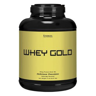 (Ultimate Nutrition) Whey Gold - (2,27 кг) - (ваниль)