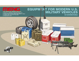 Сборная модель: (MENG SPS-014) Equipment For Modern U.S. Military Vehicles