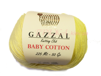пряжа Gazzal baby cotton 3413