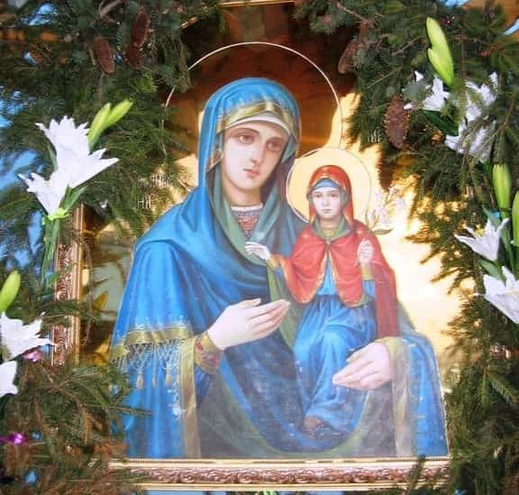 Икона Святой Анны в селе Онишковцы