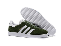 Adidas Gazelle Suede Dark Green темно-зеленые