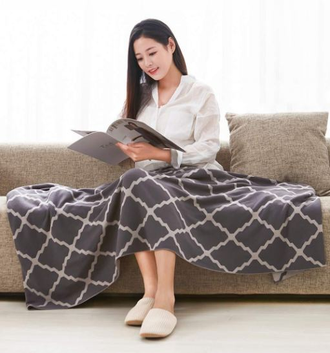 Плед Xiaomi Combed cotton knit blanket night (130*180 см)