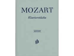 Mozart Piano Pieces gebunden