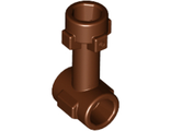 Bar   1L with Top Stud and 2 Side Studs Connector, Reddish Brown (92690 / 6029774)