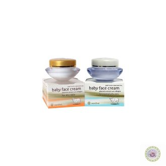 Крем для лица с коллагеном и плацентой овцы  WANTHAI Baby Face Cream Placenta Extract and Collagen. 40 гр. в ассортименте