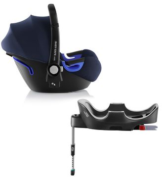 Britax roemer baby-safe i-size и база flex Moonlight Blue