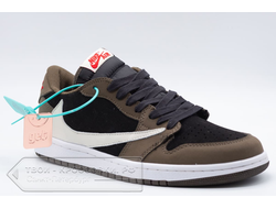 Кеды Nike air jordan 1 x Travis Scott low мужские арт. N785