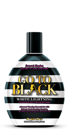Крем для загара в солярии GO TO BLACK WHITE LIGHNING INCREDIBLE DARK WHITE BRONZER Supre Tan