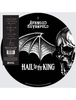 Avenged Sevenfold - Hail To The King 2-LP picture limited