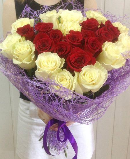 Букеты из 27 роз, салон цветов в самаре букетики