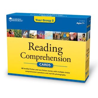Reading Comprehension Cards Year Group 3