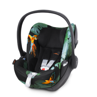Cybex cloud q Birds of Paradise