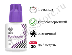 "Клей Lovely ""Double power"" (10 мл)"