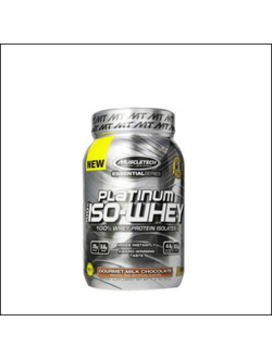 Протеин muscletech platinum 100% iso-whey  812g