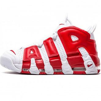 Унисекс Nike Air More Uptempo Supreme Red/White