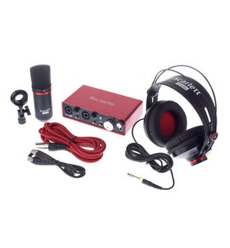 FOCUSRITE Scarlett 2i2 Studio 2nd Gen в soundwavestore-company.ru