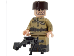 Советский пулеметчик United Bricks | WW2 Soviet Infantry with M43 Gymnastyorka (LMG)