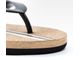 Шлёпанцы Xiaomi U'REVO cork bottom flip flops черные размер 43