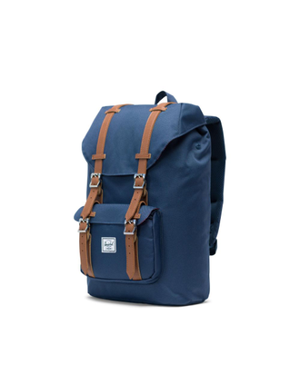 Рюкзак Herschel Little America Mid Volume Navy/Tan Synthetic Leather
