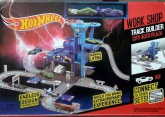 Трек Хот Вилс | Hot Wheels City Auto Plaza в магазине shopbabytoys.ru