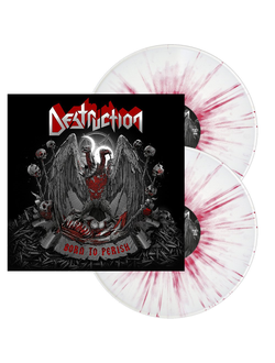 DESTRUCTION - Born to perish 2-LP silver