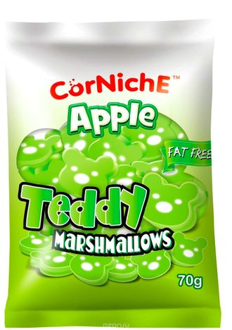 Зефир-маршмеллоу Corniche Apple Teddy Marshmallow с яблоком