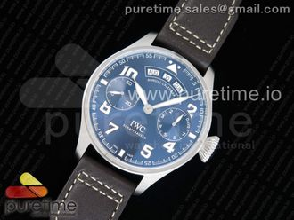 Big Pilot Real Annual Calendar Real PR SS IW502703 Blue SS
