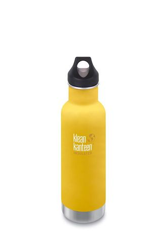 Термобутылка Klean Kanteen Insulated Classic Loop 20oz (592 мл) Lemon Curry