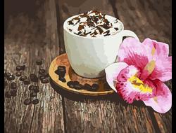 Картина по номерам GX 22245 Кофе со сливками 40*50