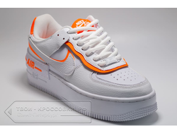 Кроссовки Nike AF Shadow 1 Low White/Yellow женские арт. N861