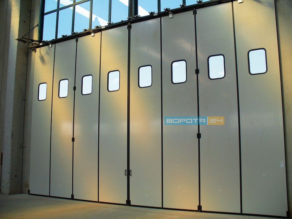 установка ворот киев - промышленные ворота роллеты для склада киев