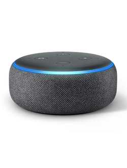 Умная колонка Amazon Echo Dot 3rd Gen (угольная)