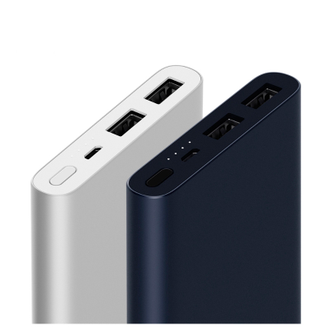 Аккумулятор Xiaomi Mi Power Bank 2 New Dual USB 10000 mAh, черный