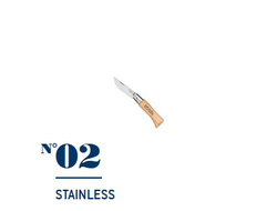 Нож Opinel №02 Stainless Steel