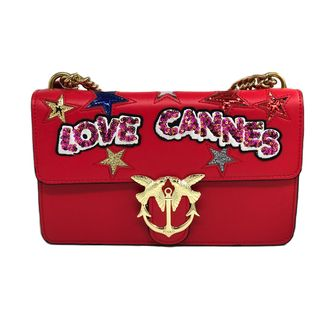 PINKO Love Cannes Red