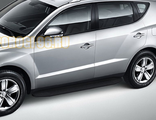 Пороги на Geely Emgrand X7 (2013-2016-…) Black